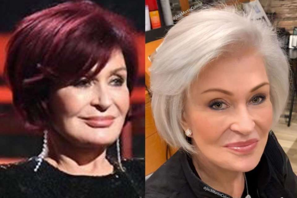 Sharon Osbourne Shows Off New Snow White Hair And Looks Gorgeous — Check Out The Photos