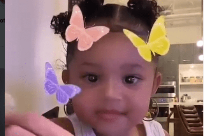 Stormi Webster Tells Kylie Jenner 'No' When She Asked If She Could Take Her Large, Hoop Earrings Out