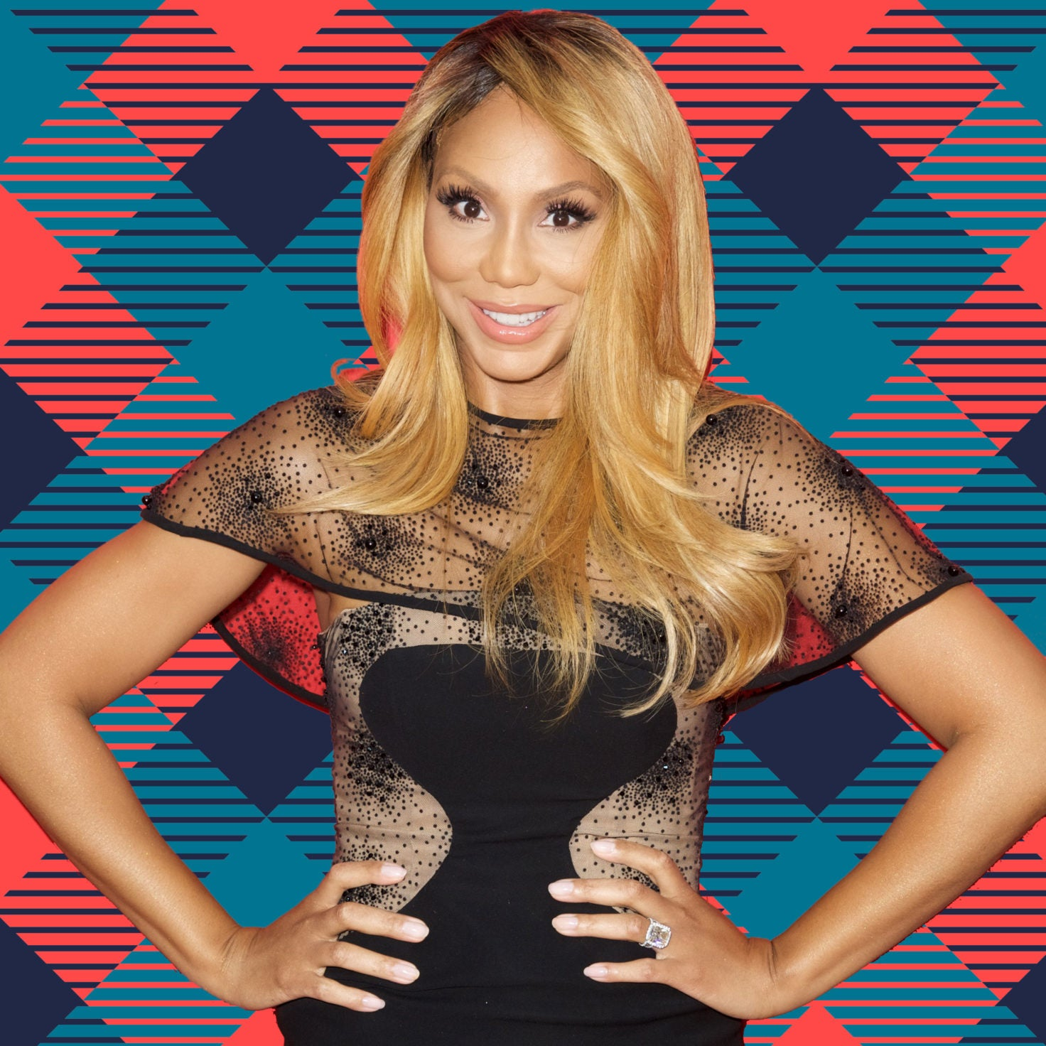 Tamar Braxton Shows Off Her Tiny Ponytail And Fans Cannot Stop Laughing