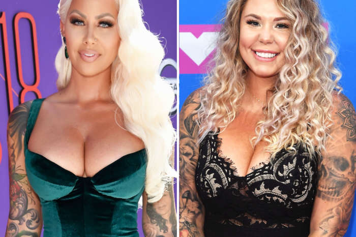 Kailyn Lowry Posts Edited Pic Of Her With Forehead Tattoo Of Her Kids' Names After Seeing Amber Rose's And Fans Beg Her Not To Do It!