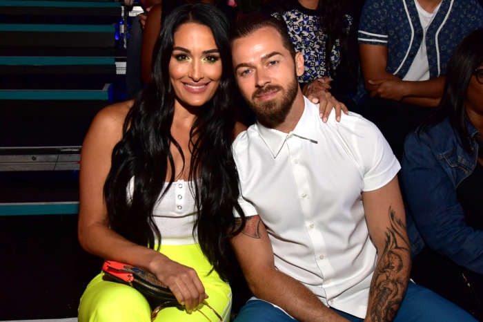 Nikki Bella Puts Baby Bump On Display During PDA-Filled Outing With Fiance Artem Chigvintsev