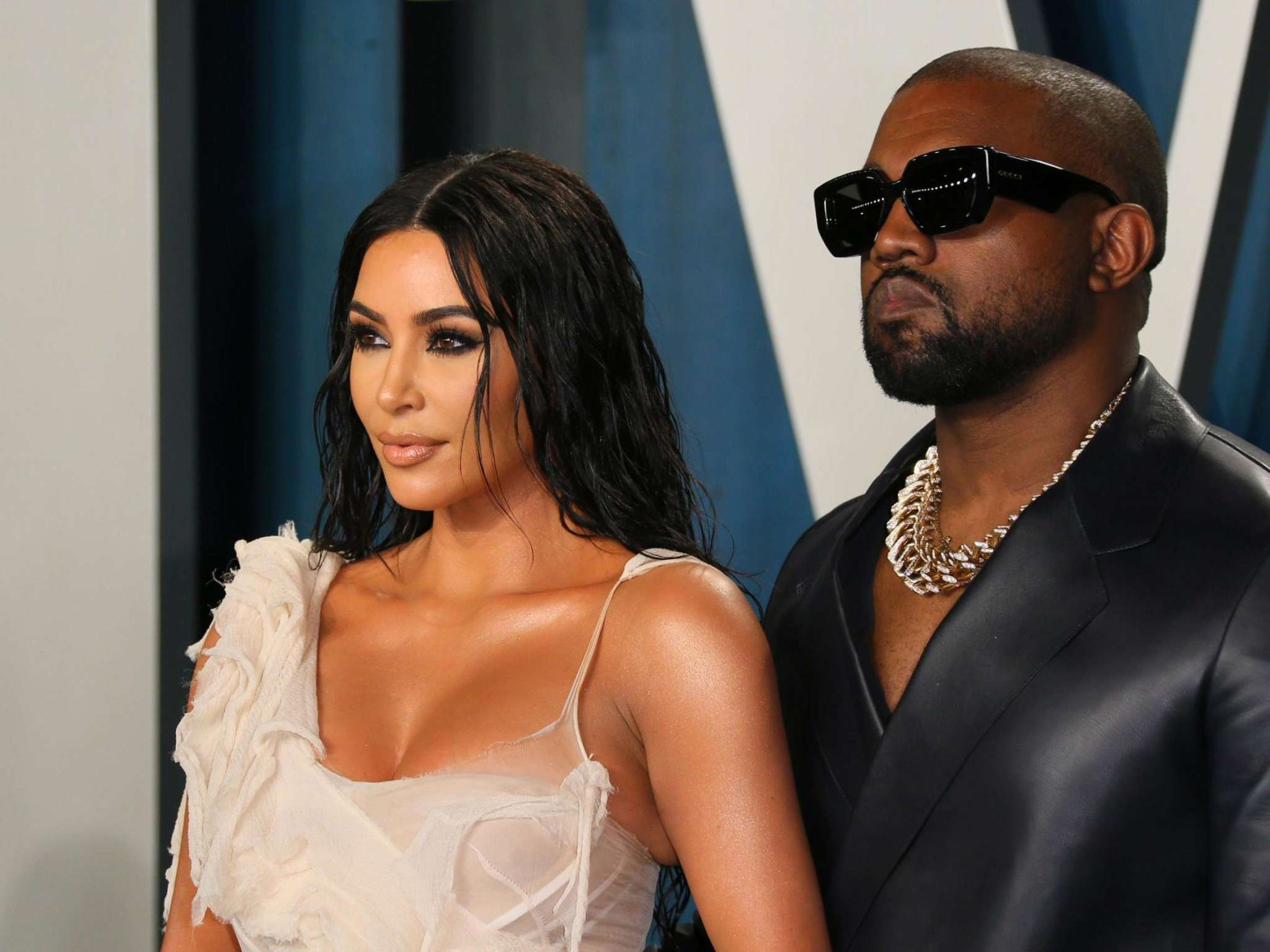 Kim Kardashian And Kanye West Look Bomb At The Oscars