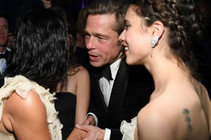 KUWK: Brad Pitt And Kim Kardashian Have A Sweet Chat While Holding Hands At Oscars After-Party!