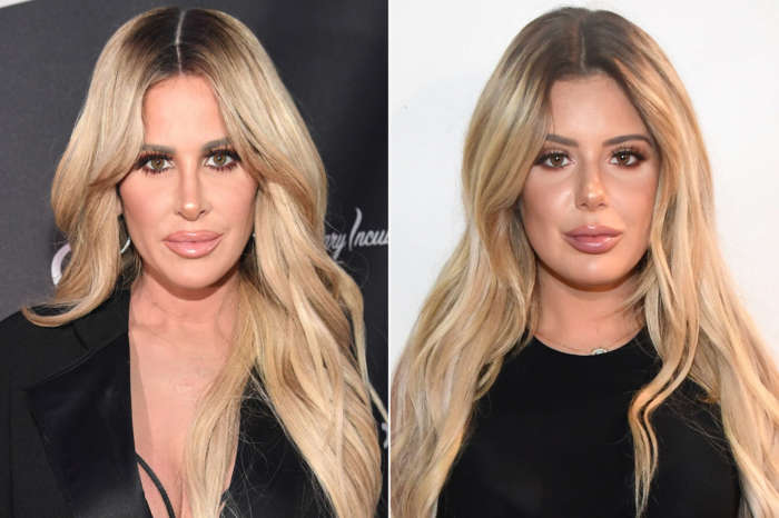 Kim Zolciak Follows Daughter Brielle Biermann's Example And Refills Her Lips!