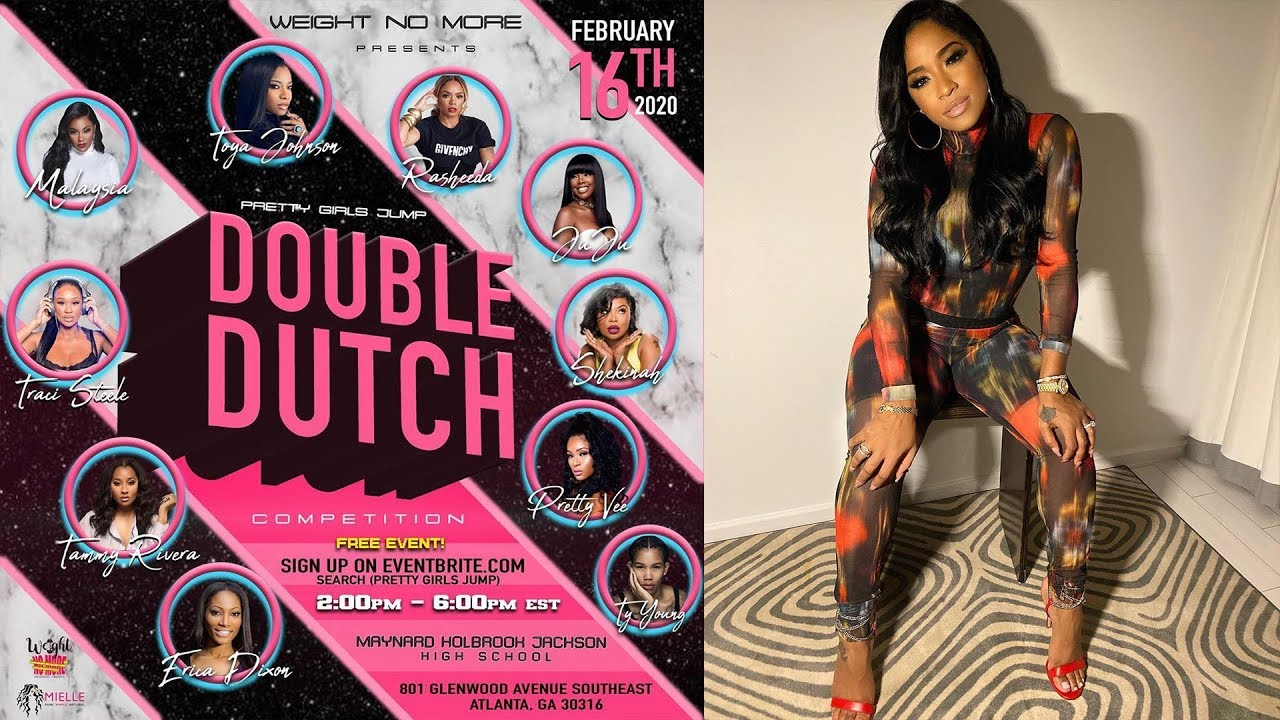 Toya Johnson Could Not Be More Excited For The Upcoming Double Dutch Competition