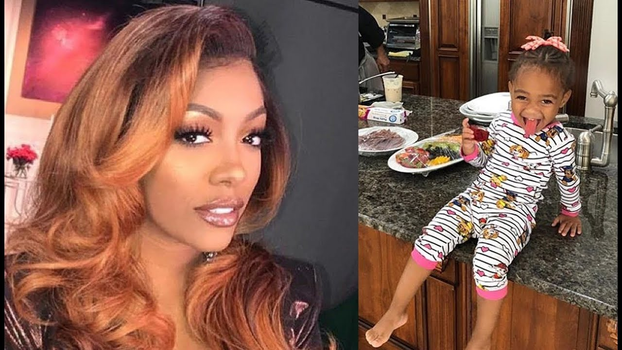 Porsha Williams Poses With Her Niece, Baleigh And Fans Cannot Believe How Much She's Grown