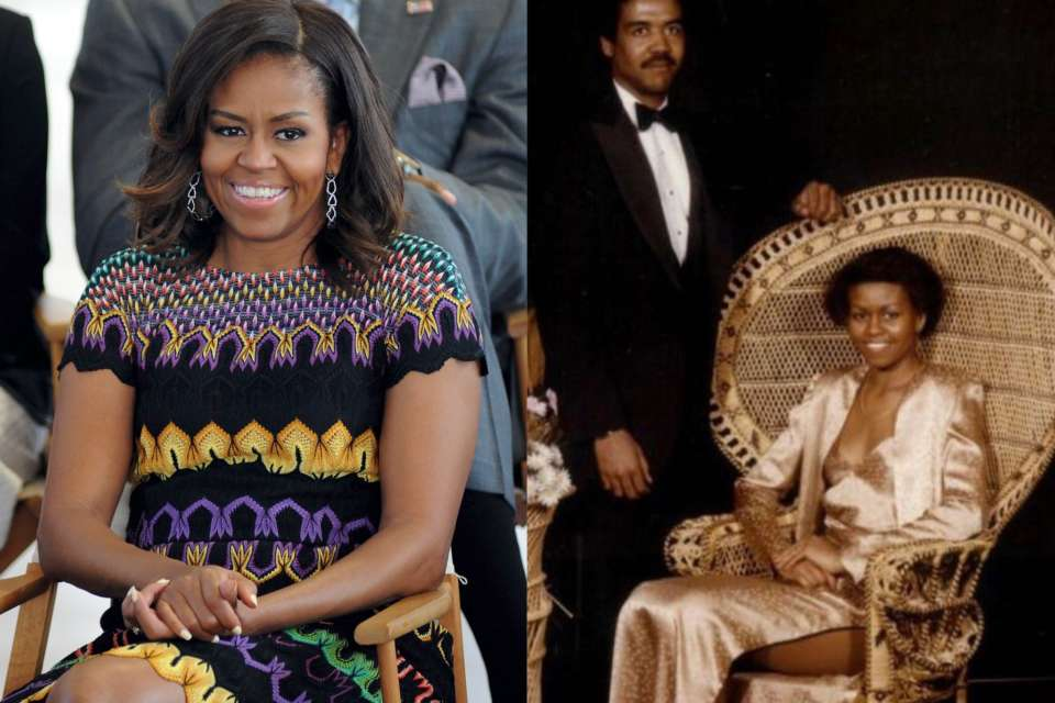 Michelle Obama Posts Throwback Pic From Her Prom!