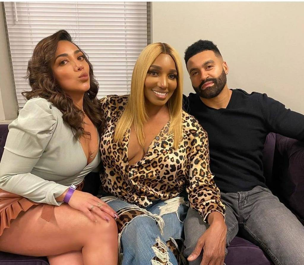 Apollo Nida And His Fiancée, Sherien Hang Out With NeNe Leakes And Have A Great Time - Check Out His Post