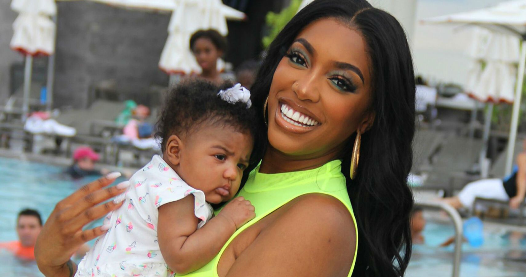 Porsha Williams' New Photo Of Baby Pilar Jhena Gives Shamea Morton Britney Spears Vibes!