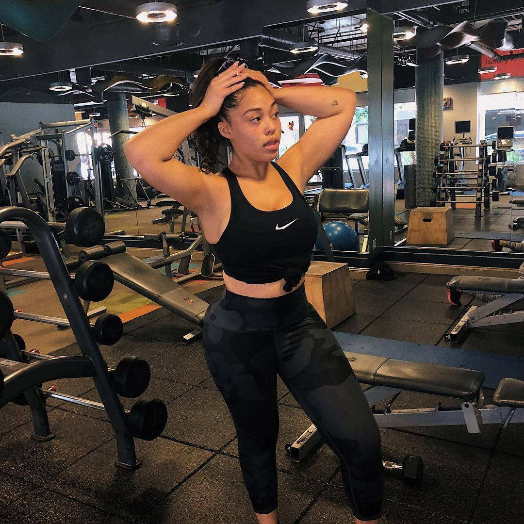Jordyn Woods Impresses Fans With This Intense Workout Video