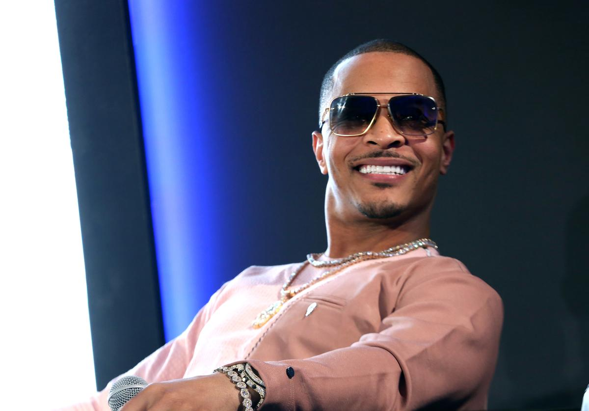 T.I. Continues To Record His Podcast ExpediTIously Amidst The Global Coronavirus Crisis