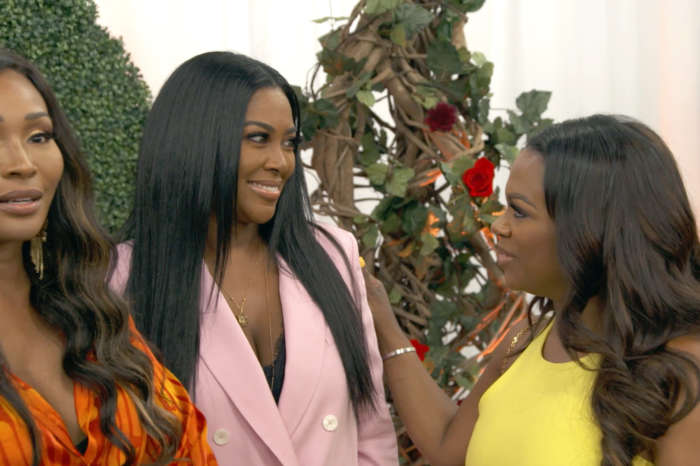 Kenya Moore Talks To Cynthia Bailey And Kandi Burruss About The Red Flags Around Marc Daly