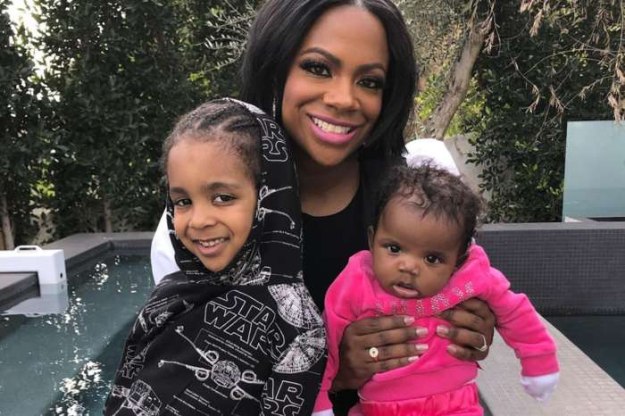 Kandi Burruss Posts Sweet Family Vacation Photos With Husband Todd Tucker, Son Ace; But Baby Blaze Made A Big Impression In A Green Bathing Suit And Matching Shades