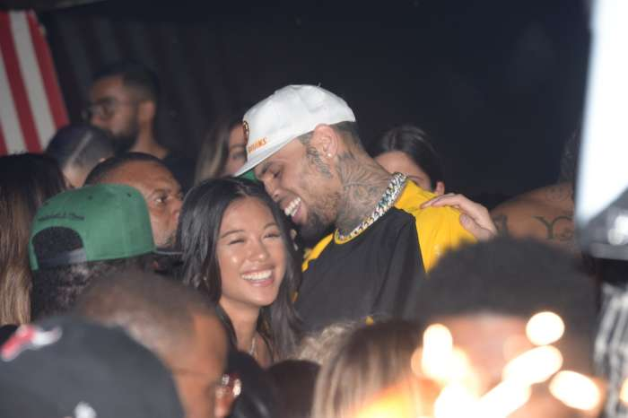 Chris Brown's Baby Mama, Ammika Harris, Might Just Have Shared A Photo Of Where Their Son, Aeko, Was Conceived -- Is This TMI?