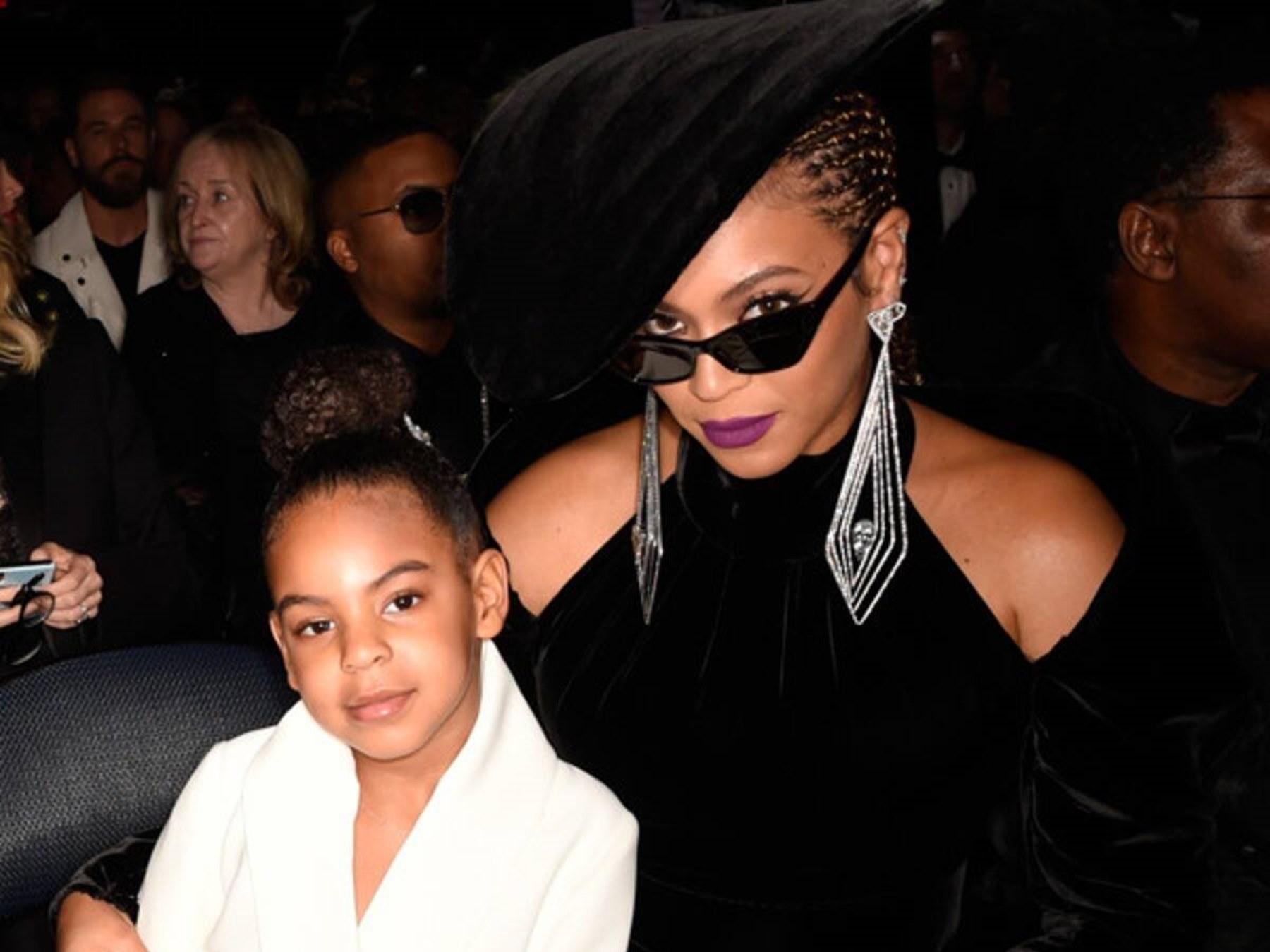 Blue Ivy Carter Beyonce LeBron James