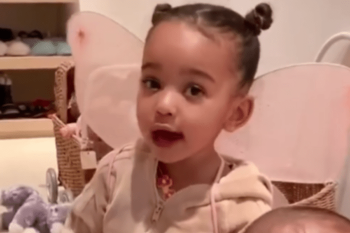 Kim Kardashian Shares Adorable Video Of Psalm And Chicago West