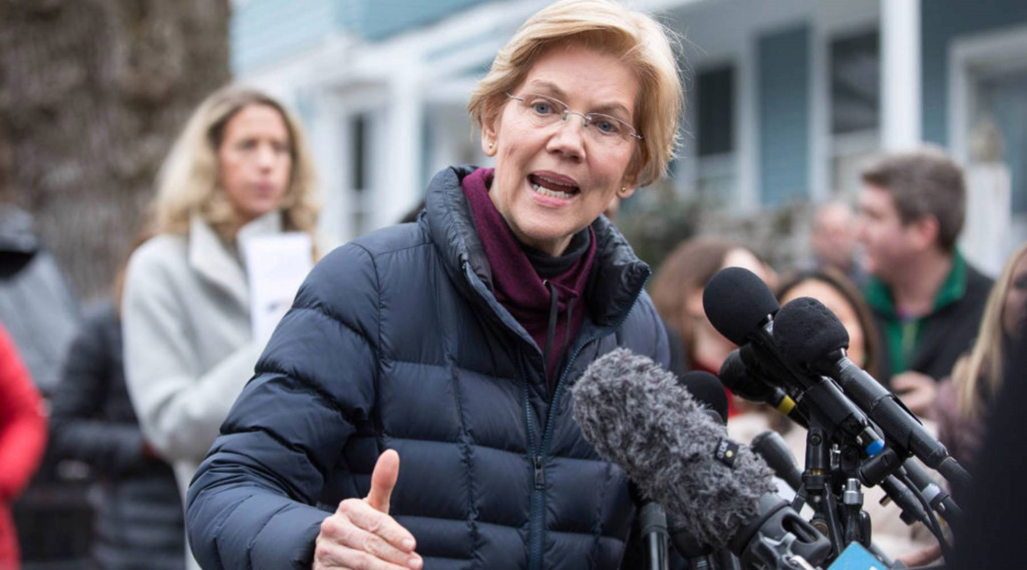 Elizabeth Warren Joe Biden Bernie Sanders