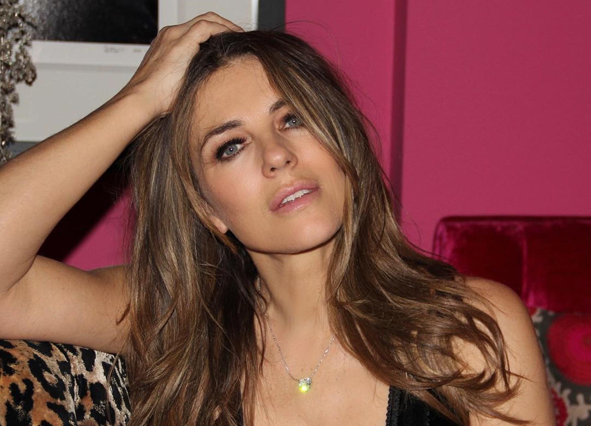 Elzabeth Hurley Coronavirus Actress Model