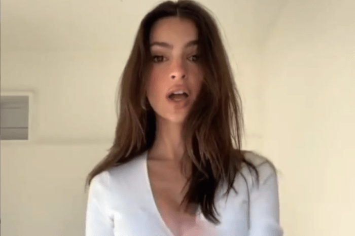 Emily Ratajkowski Launches Inamorata Woman Tik Tok Dance Contest And Shares A Video Of Her Fabulous Abs While Dancing