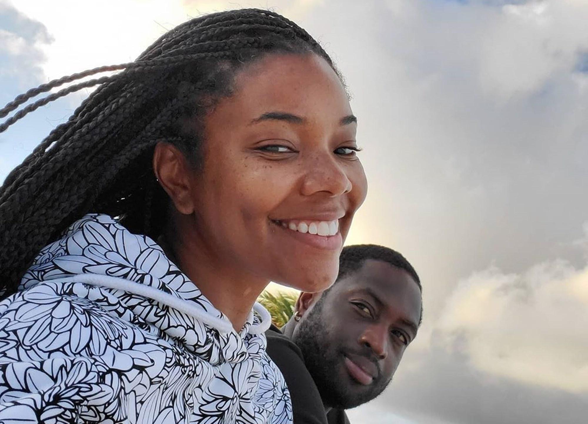 Gabrielle Union Dwyane Wade Kaavia