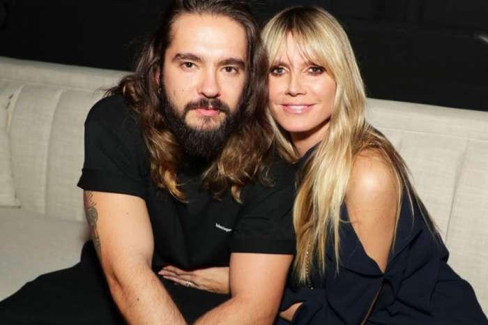 Heidi Klum And Tom Kaulitz Kiss Behind Plane Of Glass As Couple Self Quarantines Amid Coronavirus Pandemic