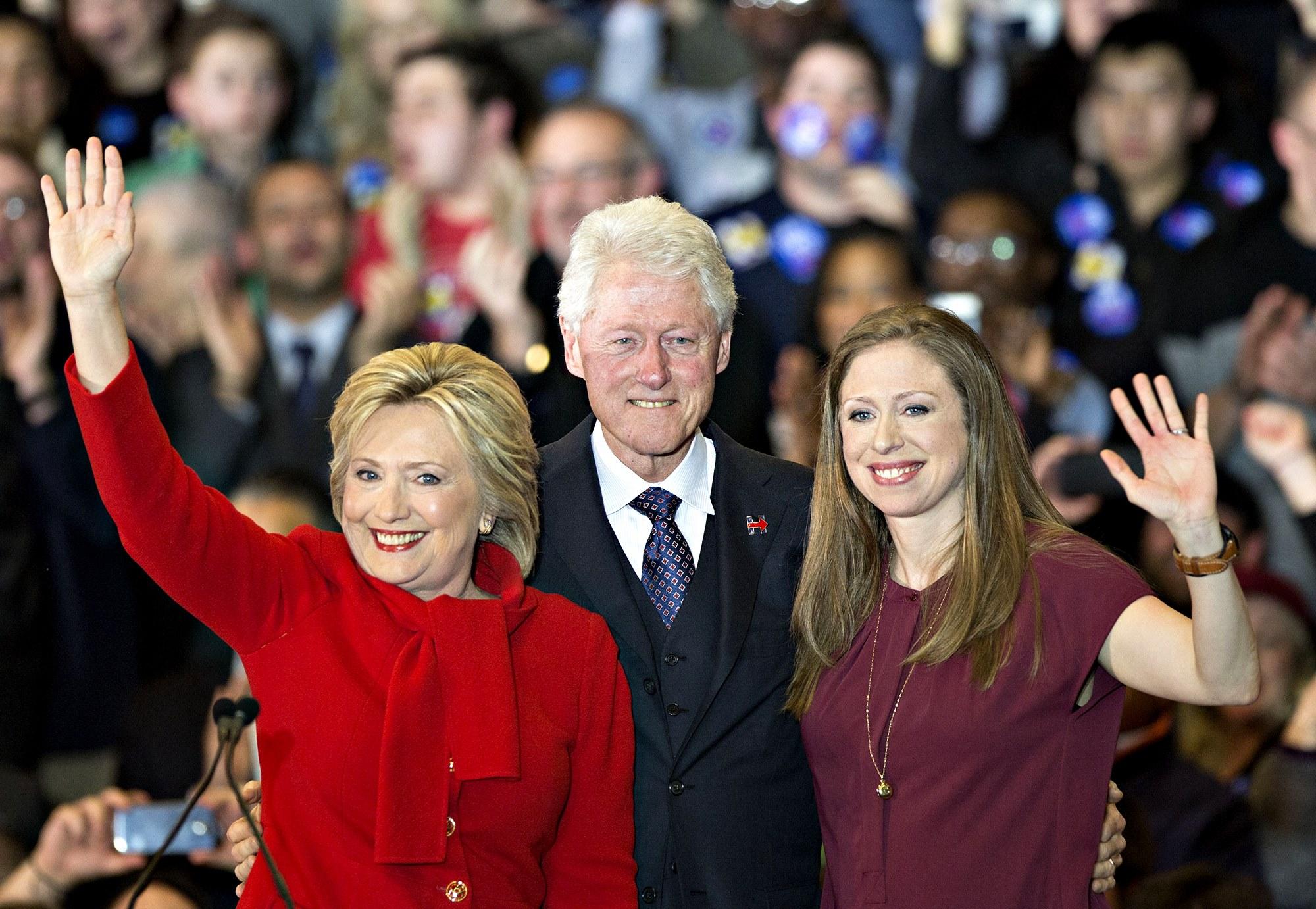 Hillary Bill Clinton Chelsea Monica Lewinsky