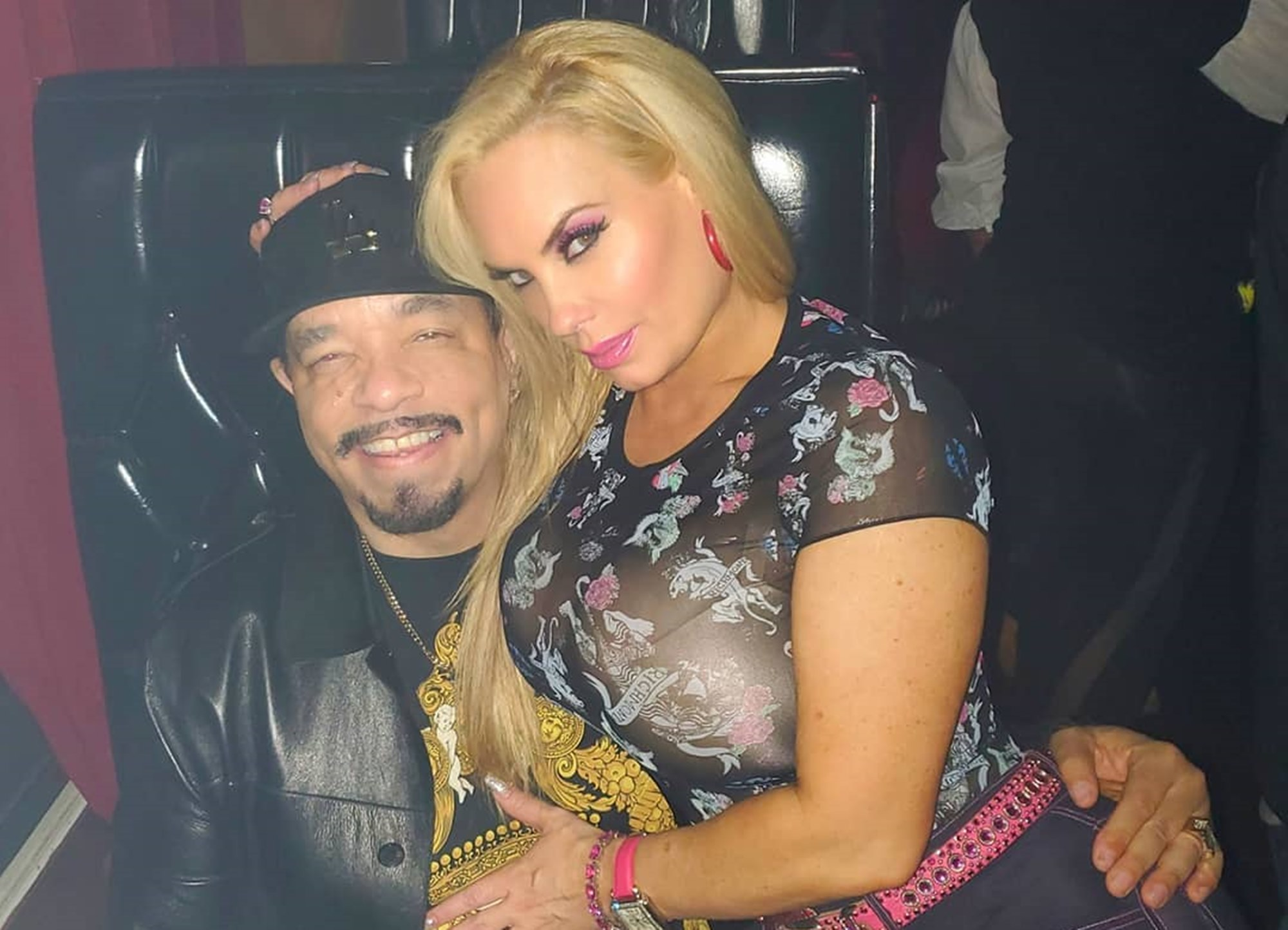 Ice-T Coco Austin Romance New Move