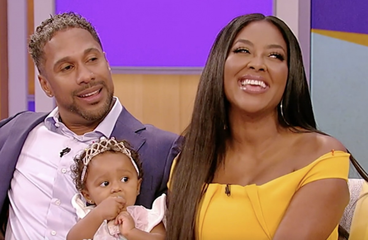 Kenya Moore's Video Featuring Baby Brooklyn Will Make You Smile
