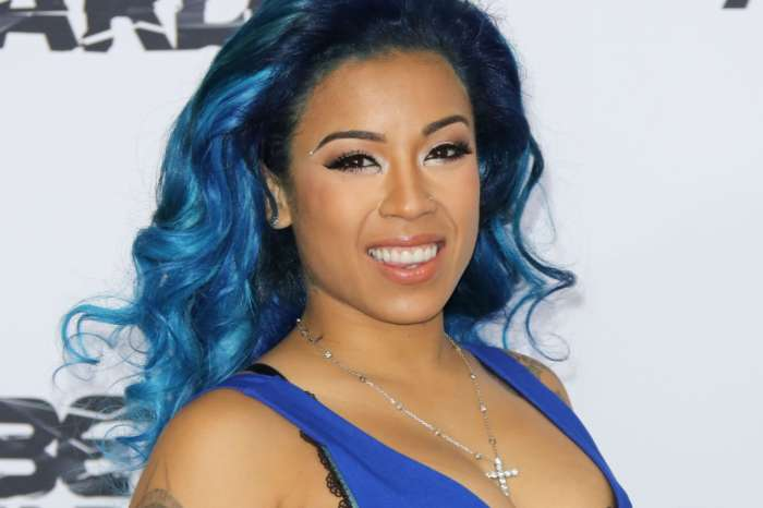 Keyshia Cole Shows Off Her Unexpected Talent In New Photo Much To The Delight Of Her Boyfriend, Niko 'Khale' Hale, While In Quarantine