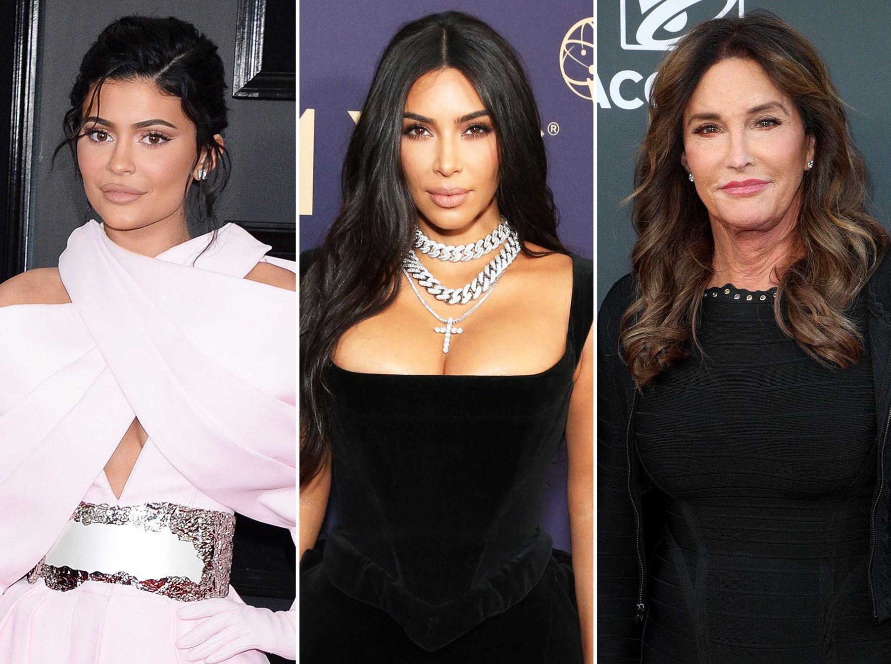 Kylie Jenner Kim Kardashian Caitlyn