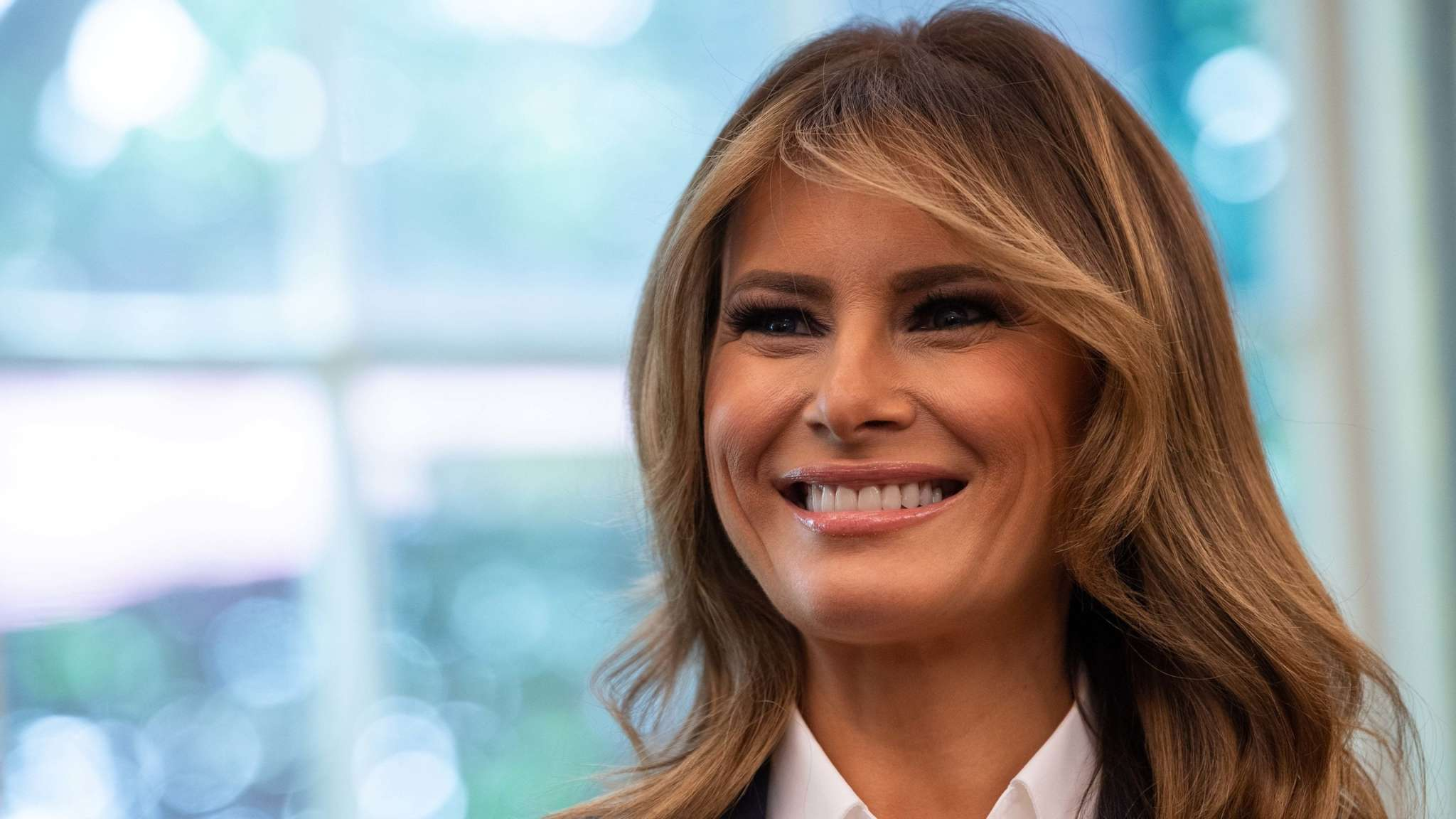 First lady pushes back against critics of her tennis tweet