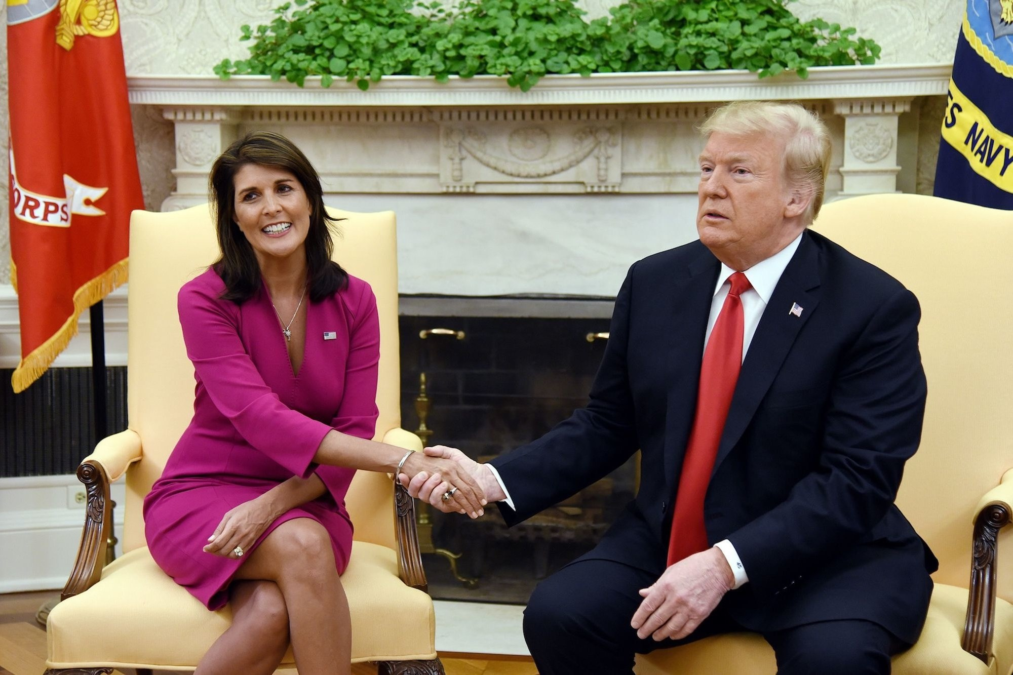 Nikki Haley Donald Trump Mike Pence