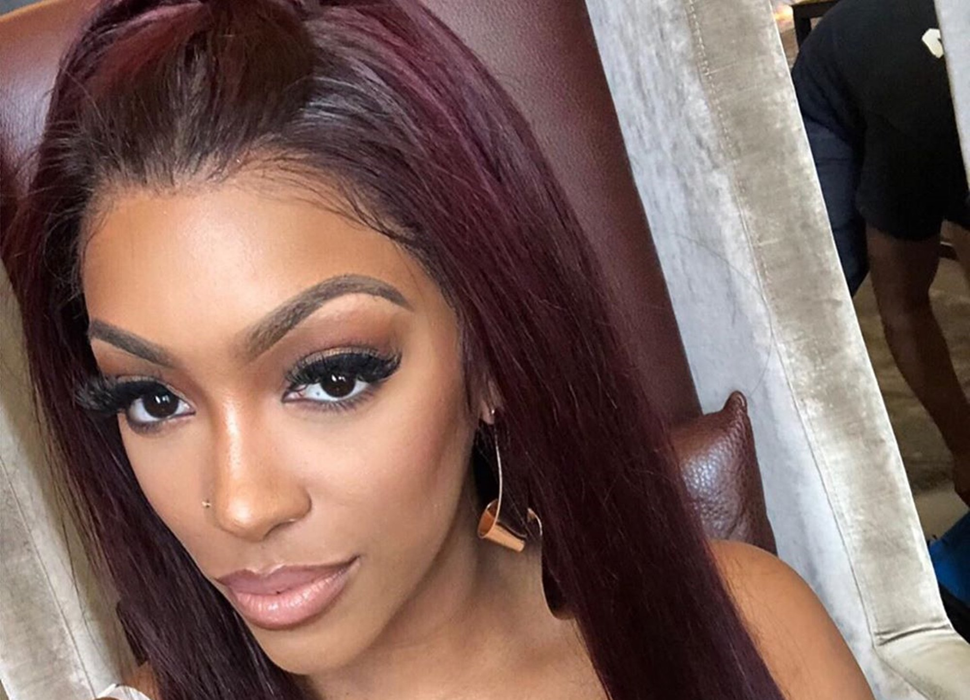 Porsha Williams Is Depressed By The News These Days And Shows Fans What Warms Her Heart These Days