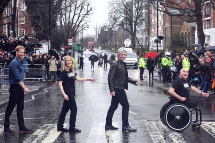 Prince Harry And Jon Bon Jovi Recreate The Beatles Abbey Road Album As Coronavirus Threatens The Invictus Games