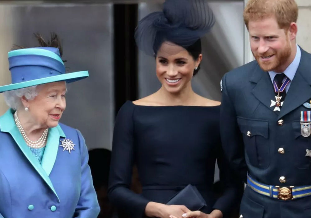 Prince Harry, Meghan Markle, & Archie Harrison Are Spending The Summer With Queen Elizabeth