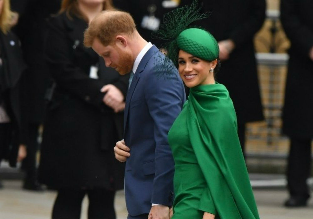 Prince Harry & Meghan Markle Make Final Royal Appearance At Commonwealth Day