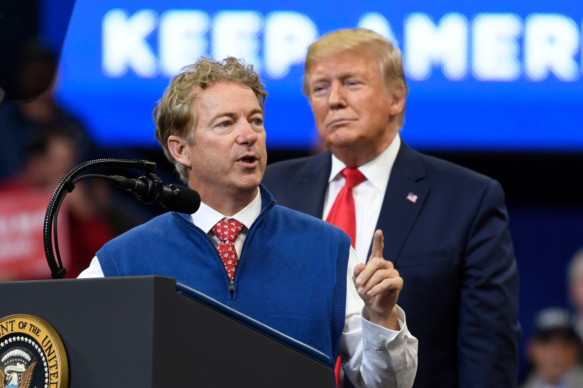 Rand Paul Donald Trump Coronavirus