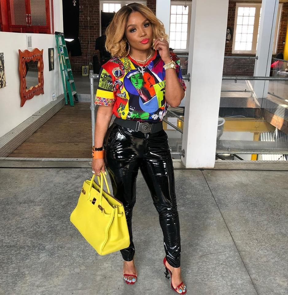 Rasheeda Frost Flaunts Her Natural Hair While Showing Off New Gorgeous New Outfits From Pressed Boutique