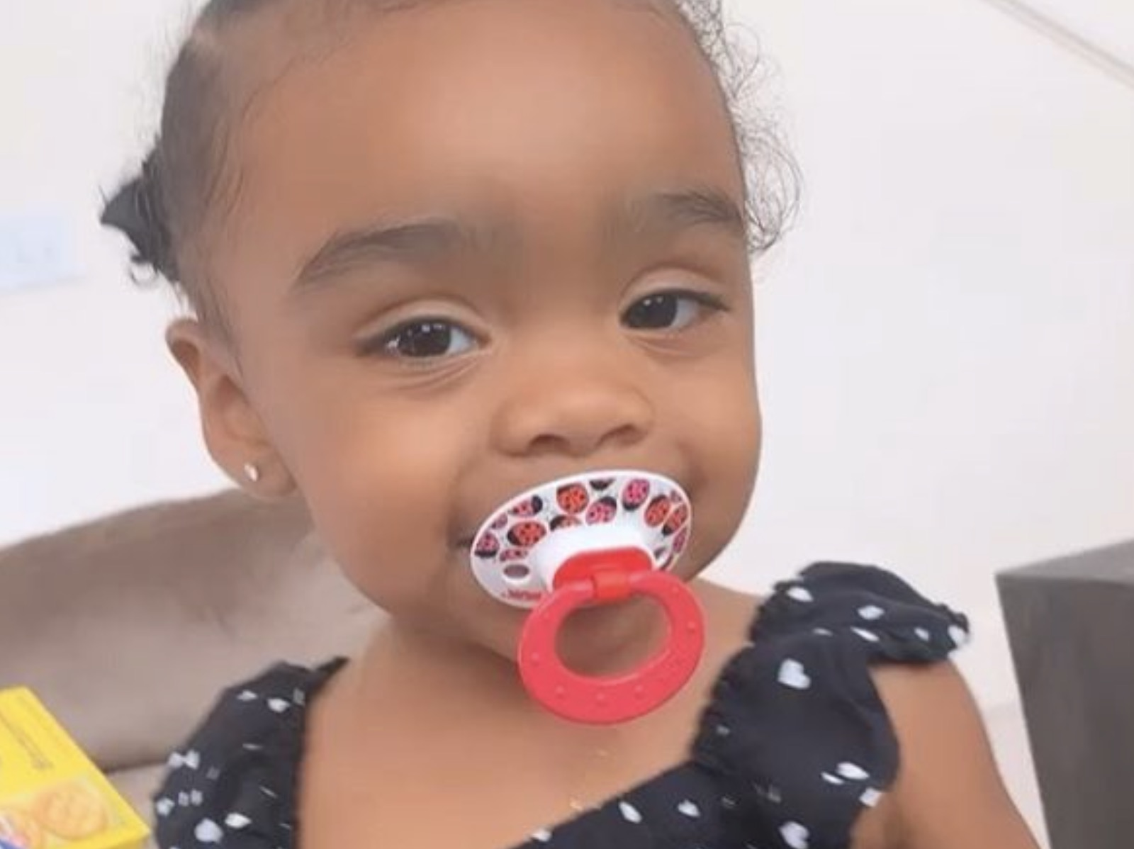 Toya Johnson's Baby Girl, Reign Rushing Makes Her Dad, Robert Rushing A Chai Latte - See The Sweet Video