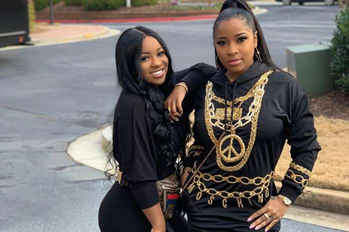 Toya Wright And Reginae Carter Are Slammed For Wearing Black Paint On Their Faces In These Photos -- Here Is The Explanation For The Makeup