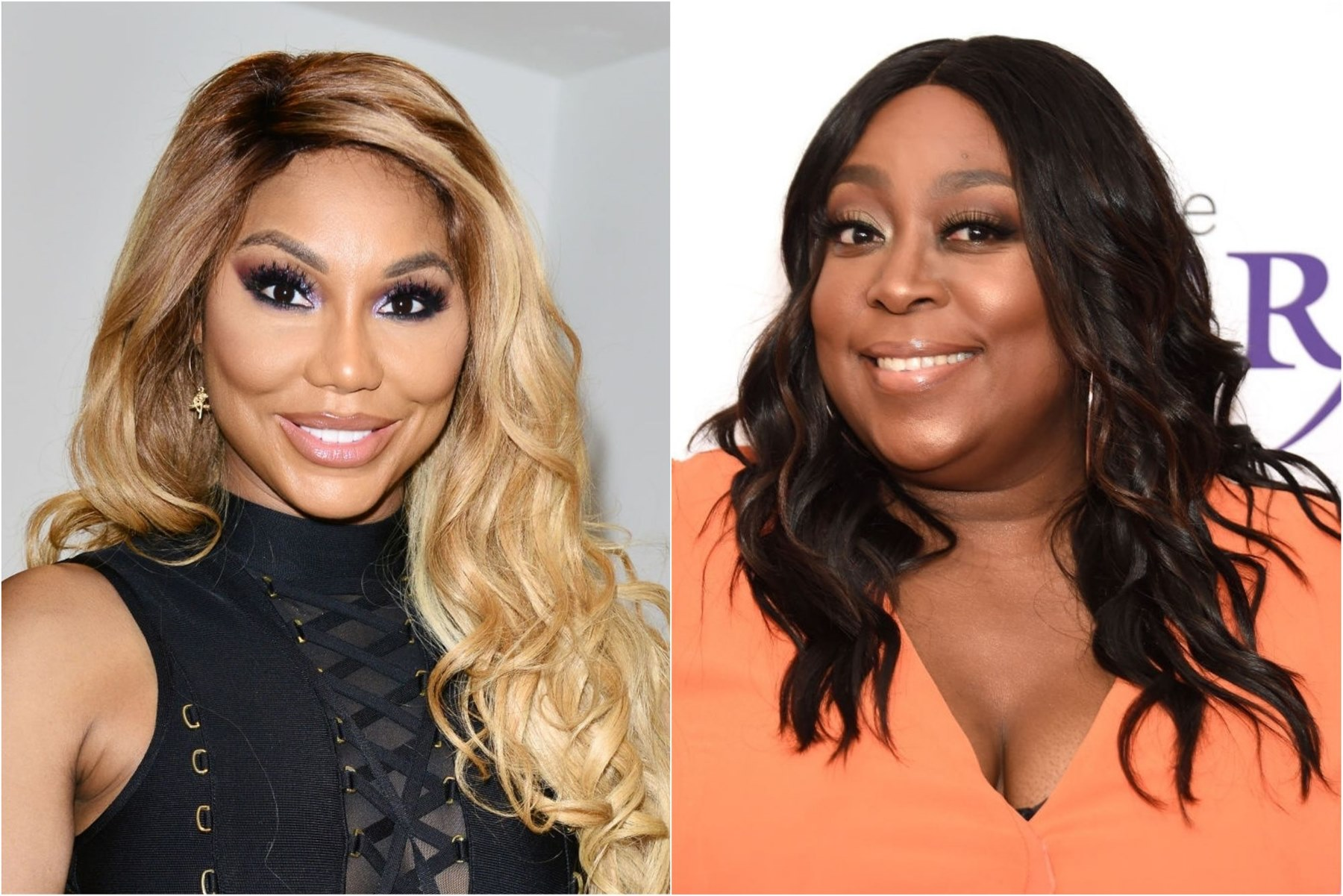 Tamar Braxton Loni Love 'The Real'