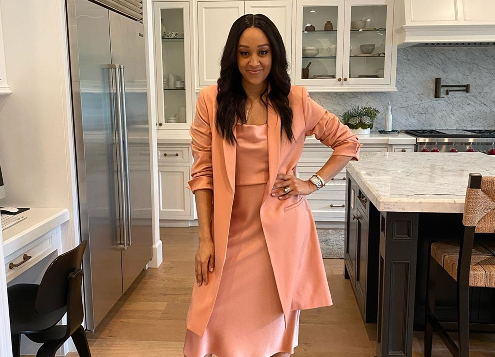 Tia Mowry-Hardrict Weight Issues Post-Pregnancy