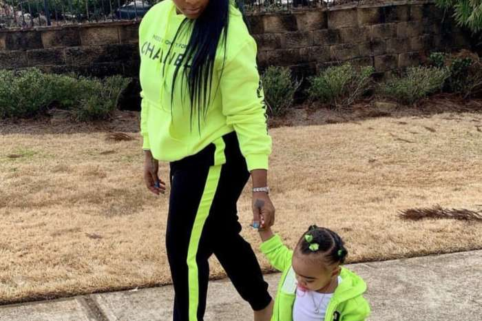 Toya Johnson's Photo Featuring Baby Reign Rushing Has Fans Emotional