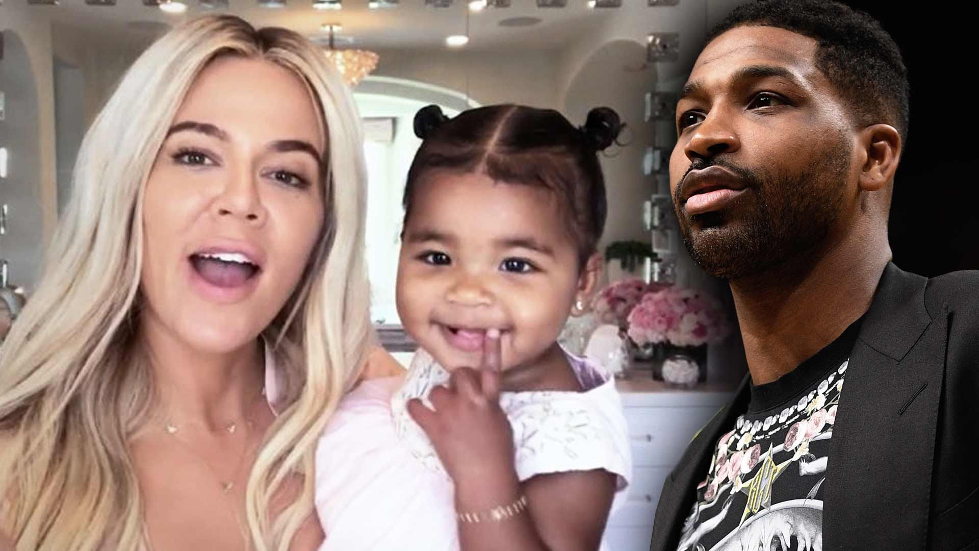 """kuwk-tristan-thompson-goofs-around-with-daughter-true-in-adorable-pics"""