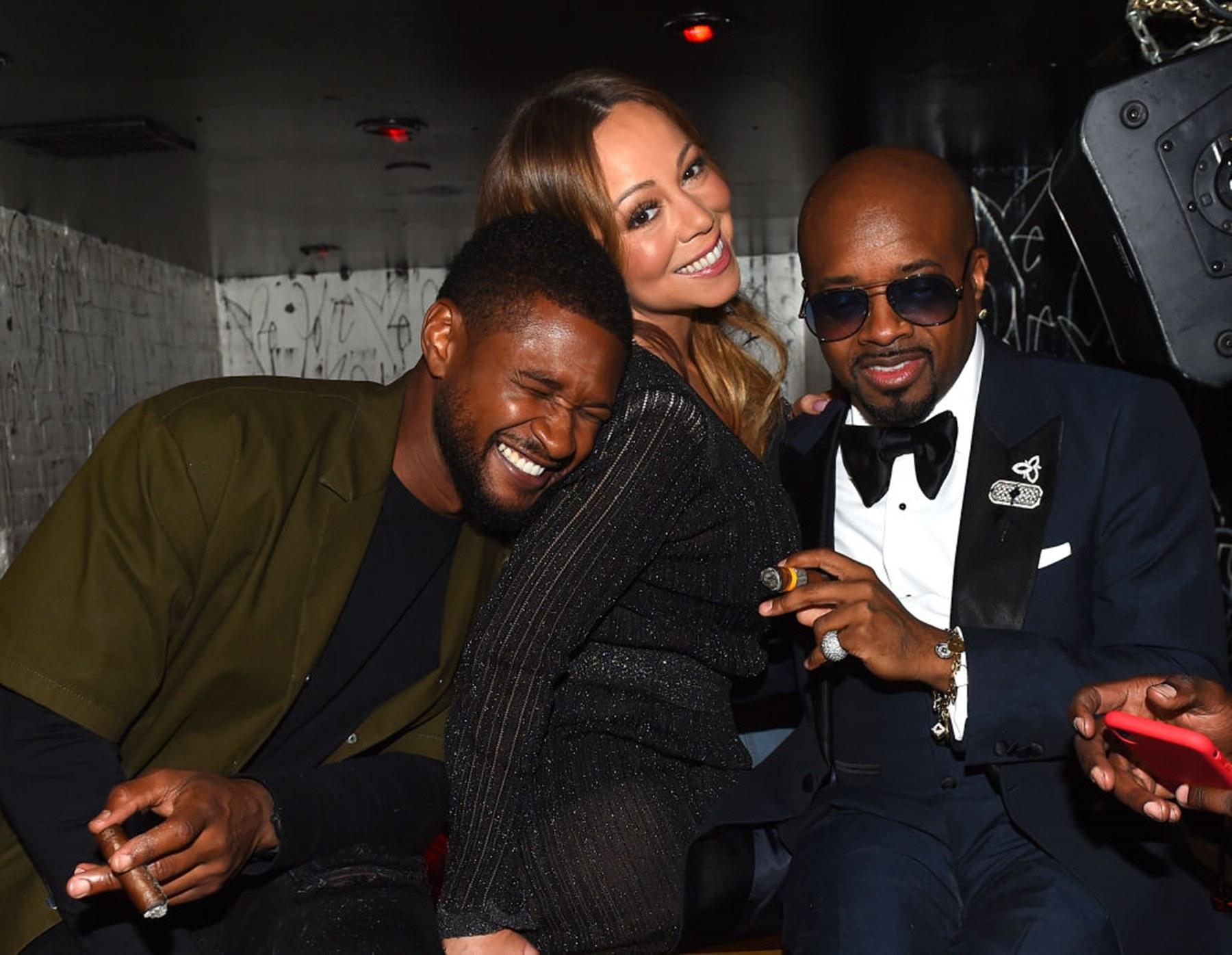 Usher Raymond Mariah Carey Jermaine Dupri TLC Regrets