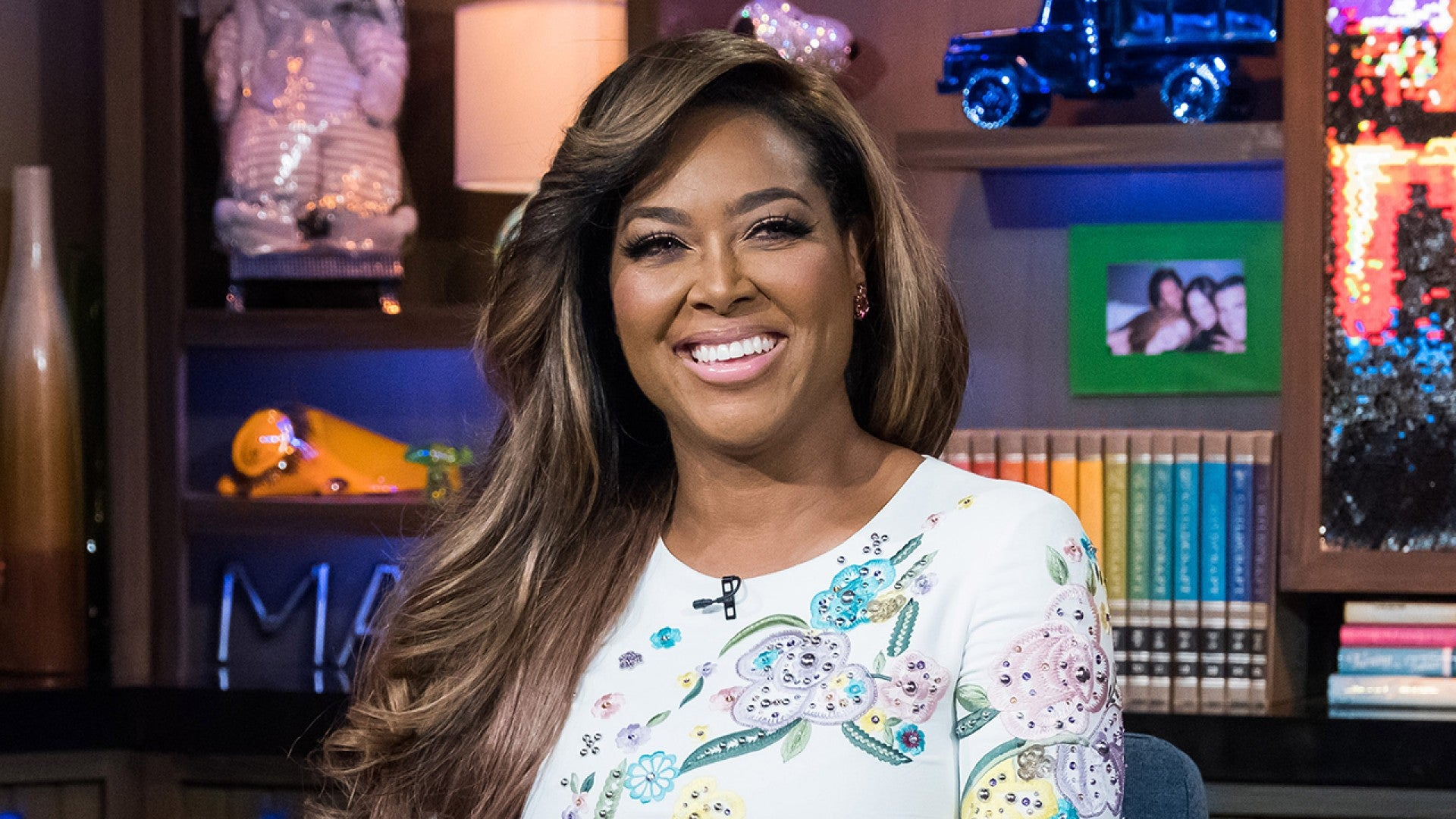 Kenya Moore Is Counting Her Blessings Inside Her Home - Check Out The Moore Manor