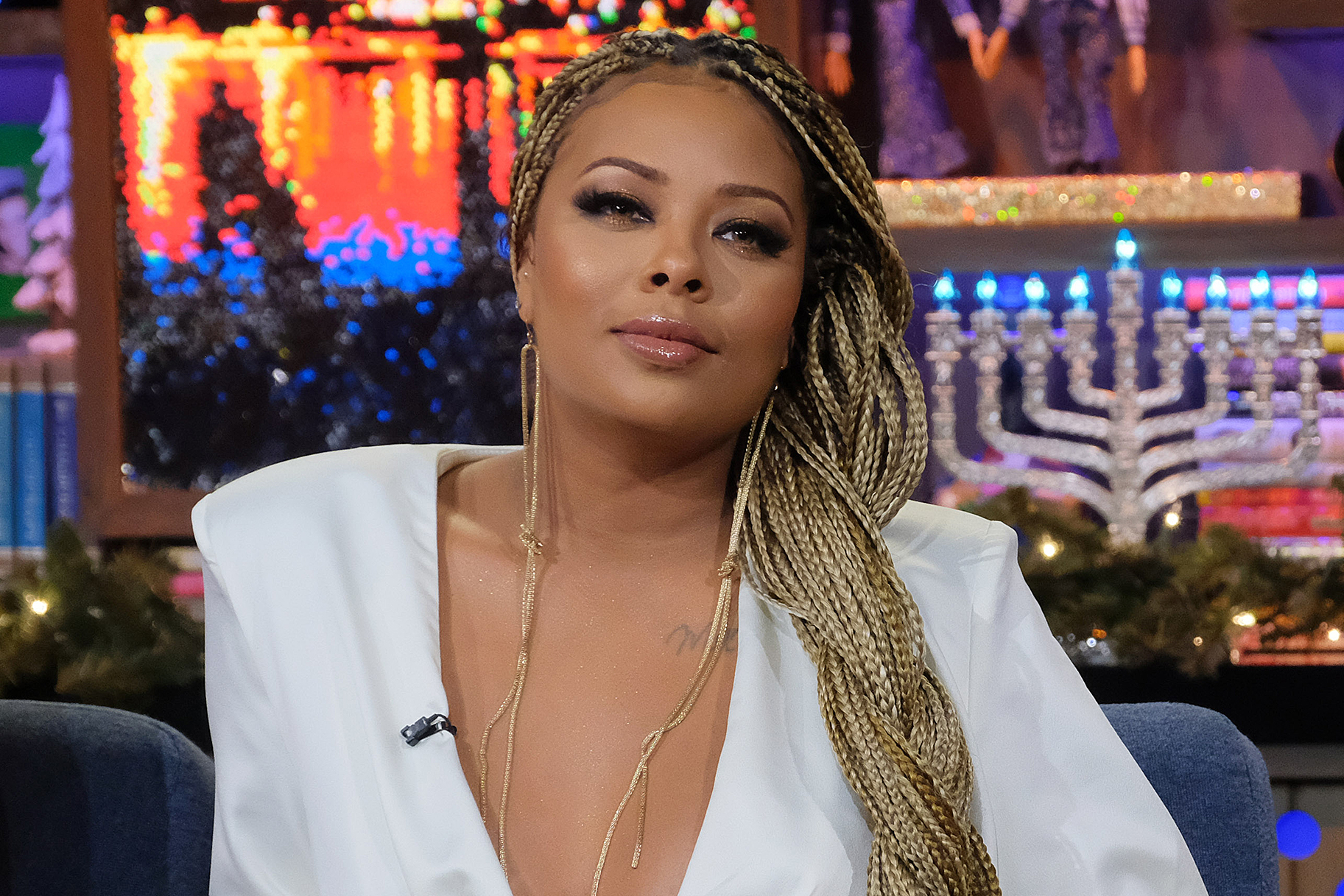 Eva Marcille Says Who We Should Be Thankful To During These Terrible Times