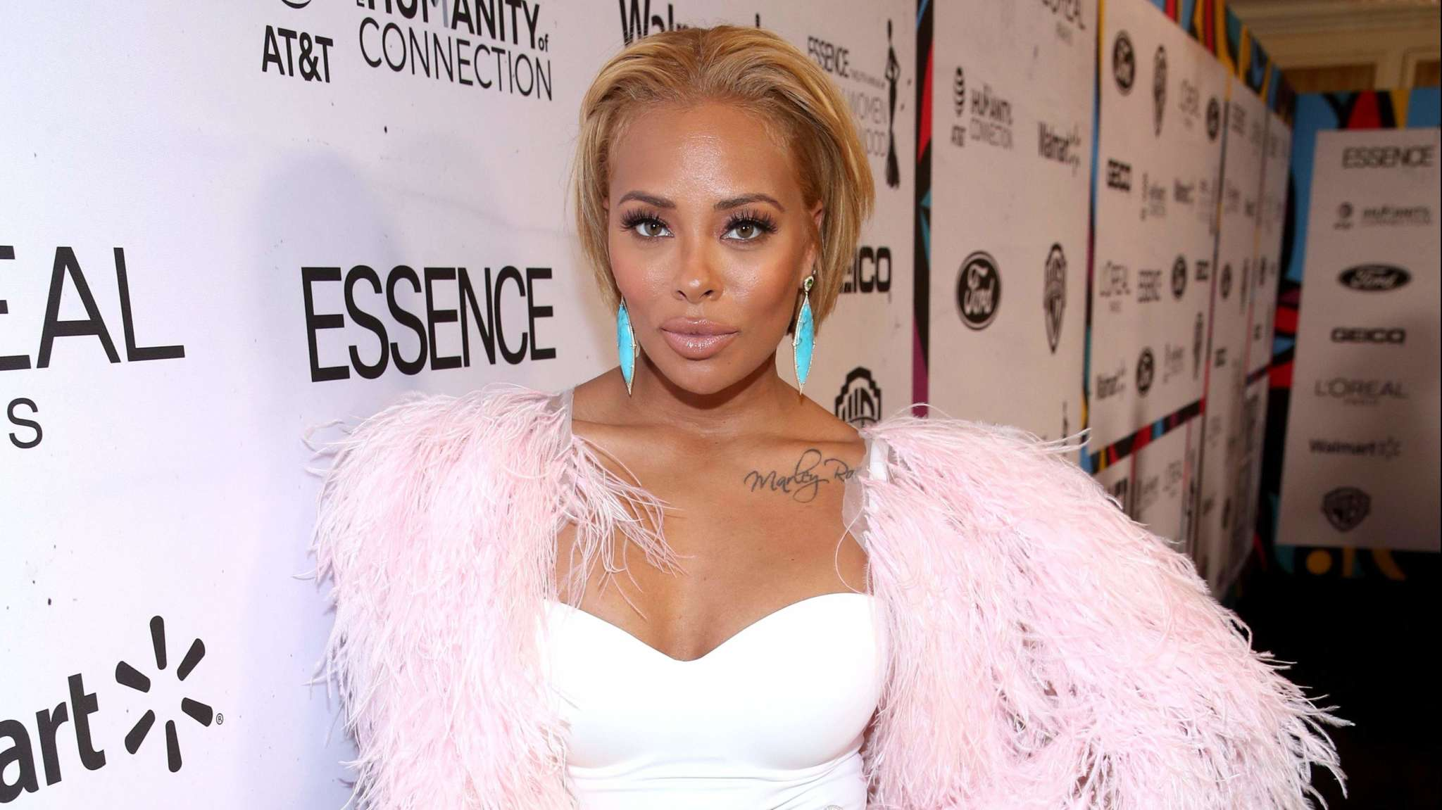Eva Marcille's Son, Maverick Looks Like A Living Doll In This Photo