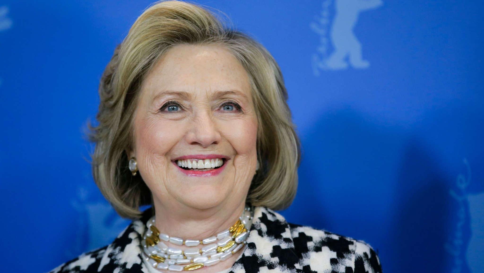 Reptiloiden Hillary Clinton