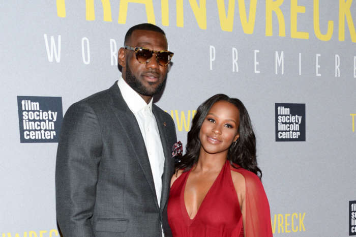 LeBron James And Savannah James Are Isolated At Home - Check Out Savannah Cutting Her Own Braids